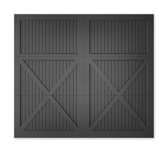 Timberlane offers many different styles of our carriage collection of garage doors