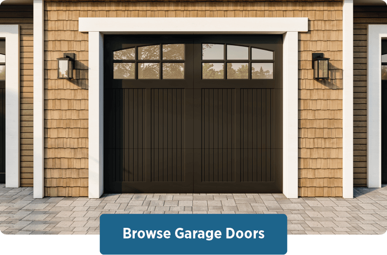 browse Timberlane's handcrafted garage door styles, materials, customization options, and more